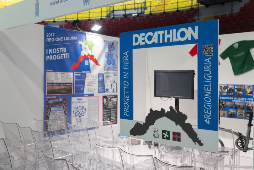 Decathlon evento
