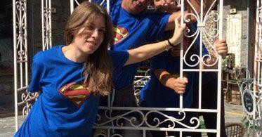 Aveda team building supereroi caccia al tesoro