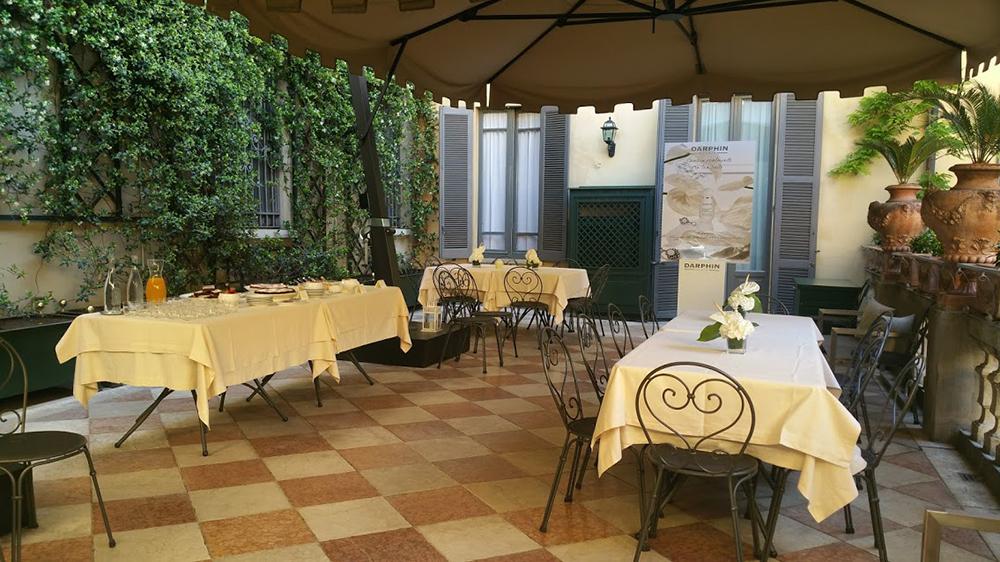 Location eventi primavera Darphin dehor terrazza catering