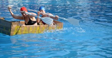 Team building carton boat bestway corp