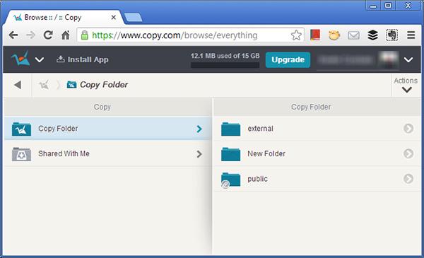 copy interface