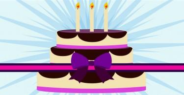 organizzare eventi celebrativi torta