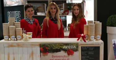 instore marketing aveda genova header