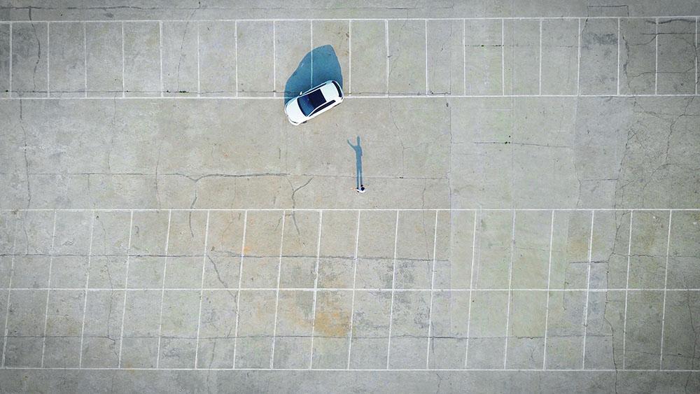 location insolite per eventi parcheggio