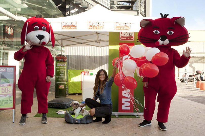 maxi zoo torta hostess cane animali evento presentazione palloncini