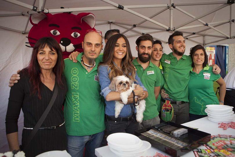 maxi zoo torta mascotte animali evento presentazione 5