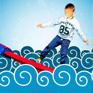 mini olimpiadi decathlon, attività bambini