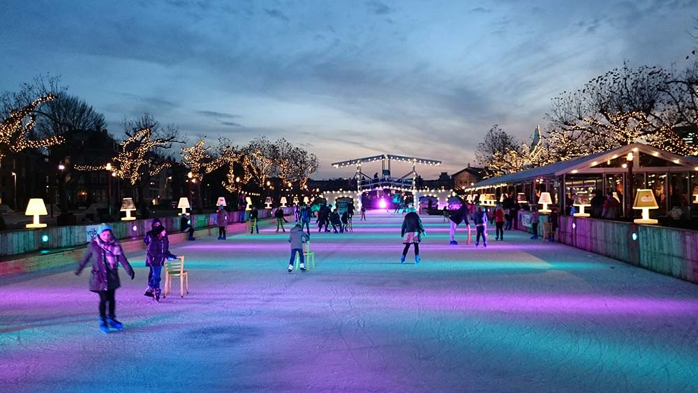 pattinare eventi invernali