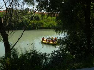 rafting tevere