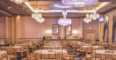 tavoli lampadari location evento aziendale