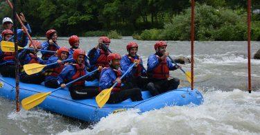 voyage privé rafting team building 14