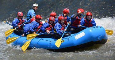 voyage privé rafting team building 16