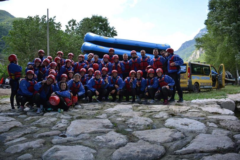 voyage privé rafting team building 17