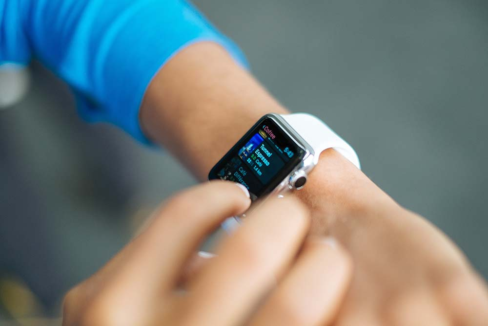 wearable smart watch tecnologie eventi